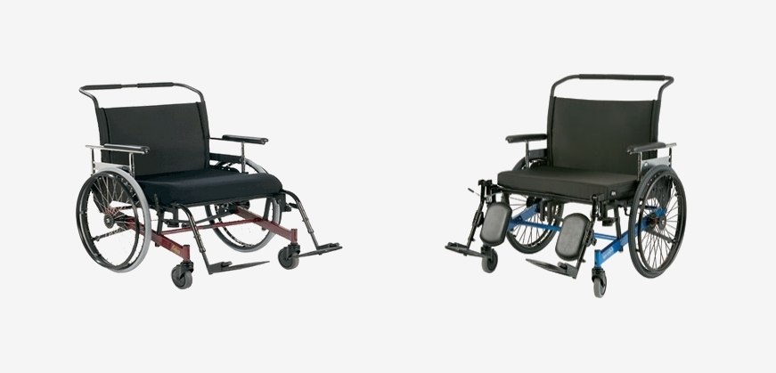 454 & 254KG BARIATRIC HEAVY DUTY WHEELCHAIRS
